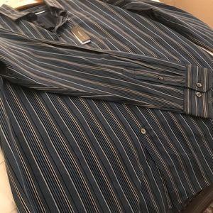 Van Heusen XL 17-17 1/2 Slim Fit LS Shirt